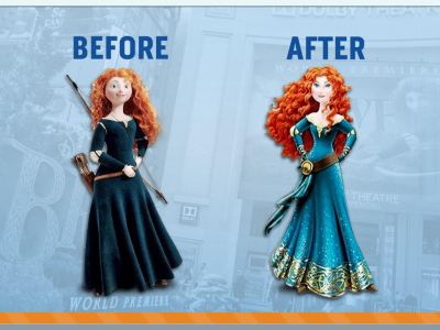 Merida Before & After Photo